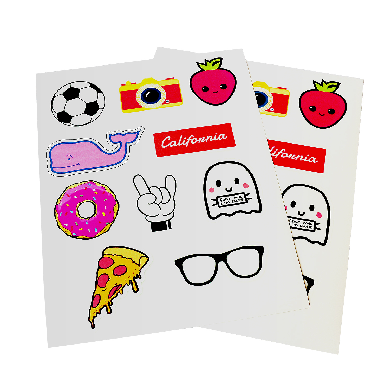 "Milcoast Full Sheet 8.5/"" x 11/"" Matte Adhesive Sticker Paper Labels"