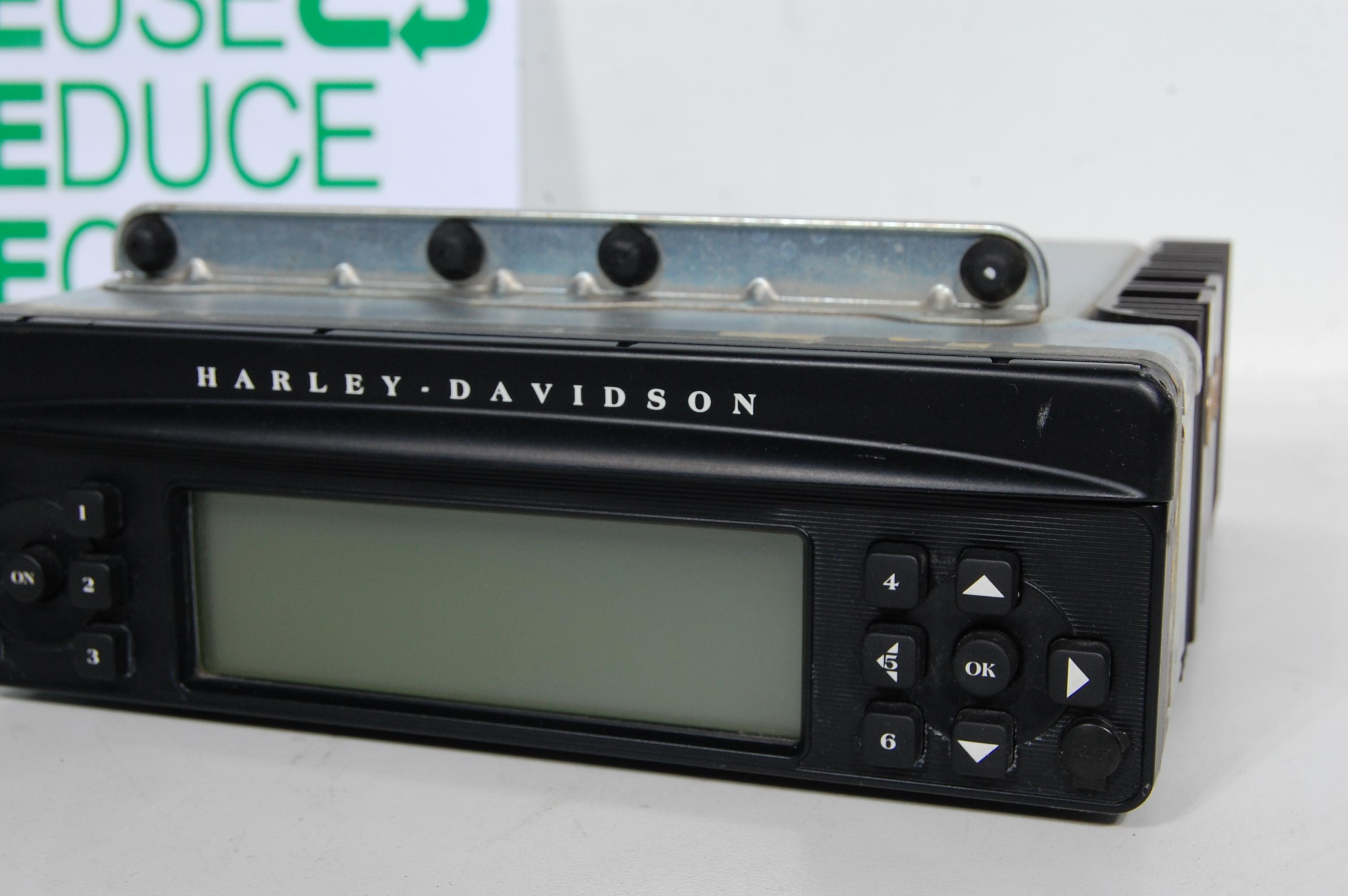 harley davidson harman kardon be 7680 radio as is ebay. Black Bedroom Furniture Sets. Home Design Ideas