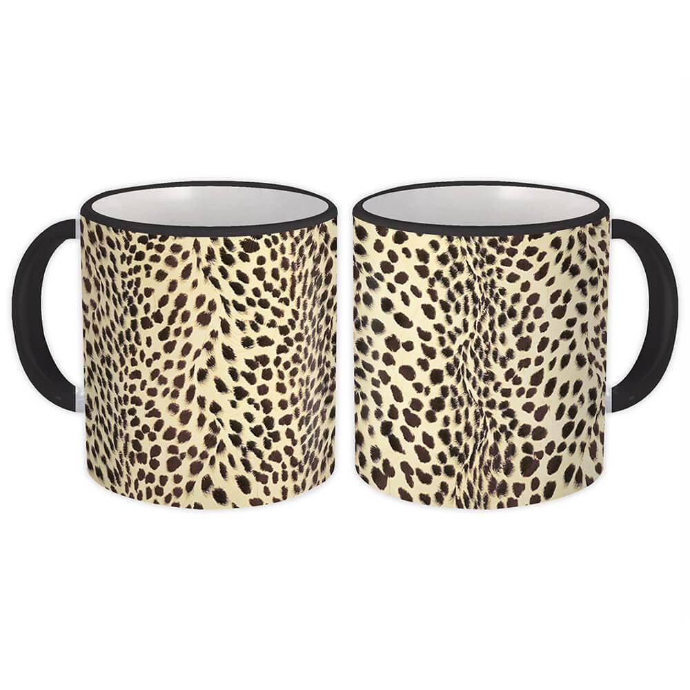 Animal Print Cheetah Mug Gift