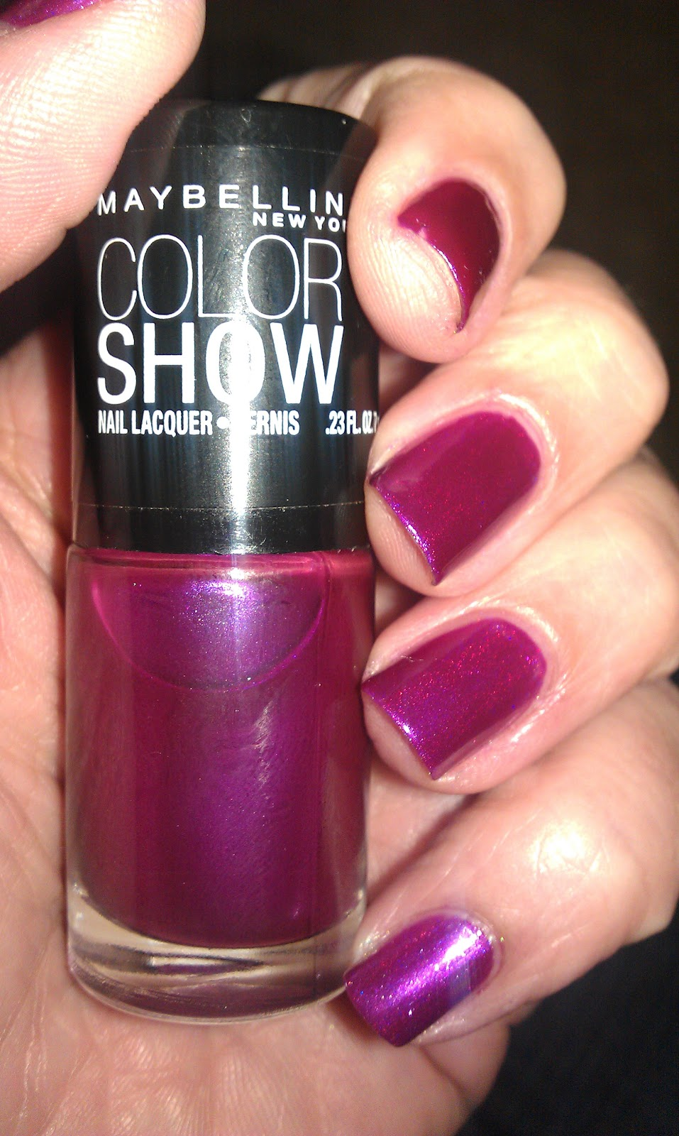 Maybelline Color Show Nail Art Masterclass: Maybelline Color Show Nail Polish Lacquer (CHOOSE YOUR