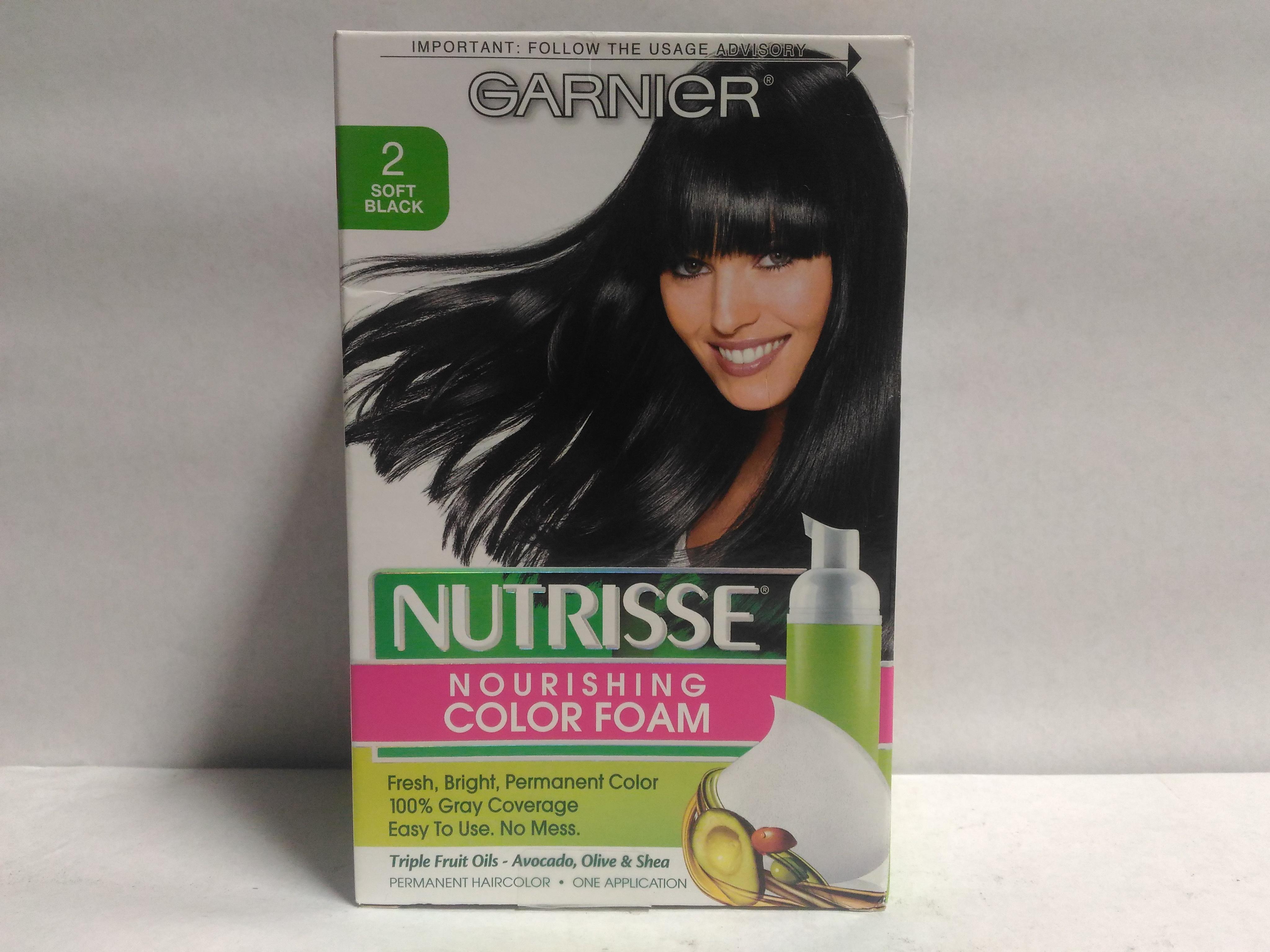Garnier Nutrisse Nourishing Color Foam Permanent Hair
