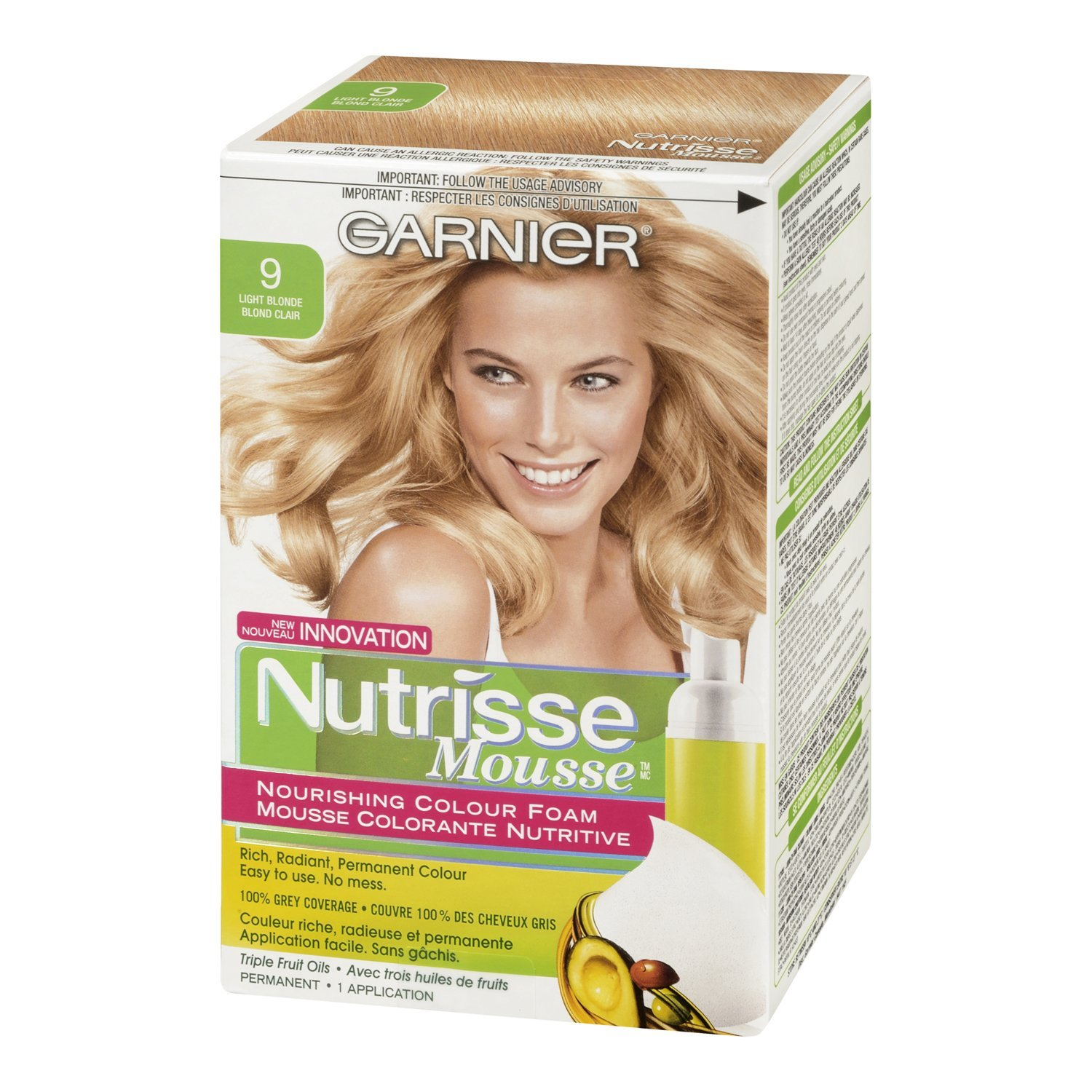 garnier hair colour how to use