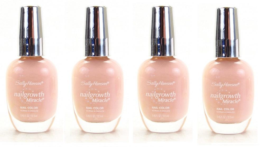 Sally Hansen Nail Growth Miracle Polish, 150 Bold Buff CHOOSE YOUR ...