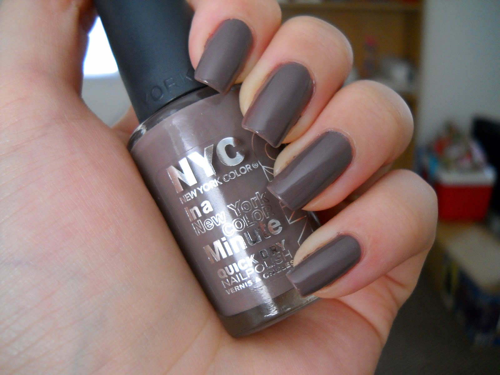 NYC In A New York Color Minute Quick Dry Nail Polish CHOOSE UR COLOR ...