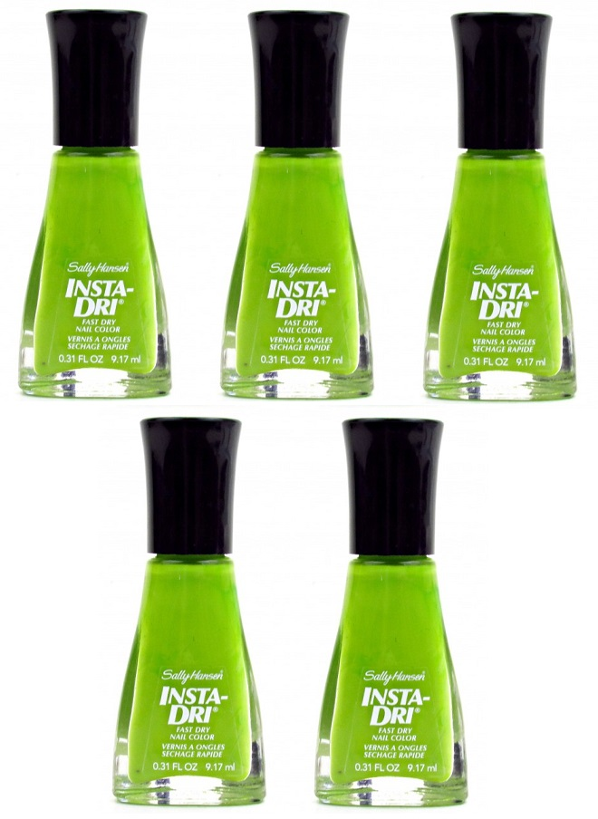 Sally Hansen Insta Dry Quick Dry Nail Polish, 450 Lickety Split Lime ...