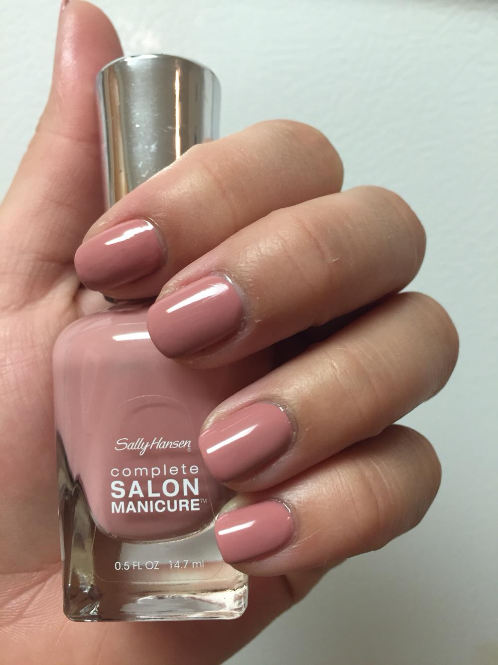 Sally hansen complete salon manicure nail polish choose for Salon manicure