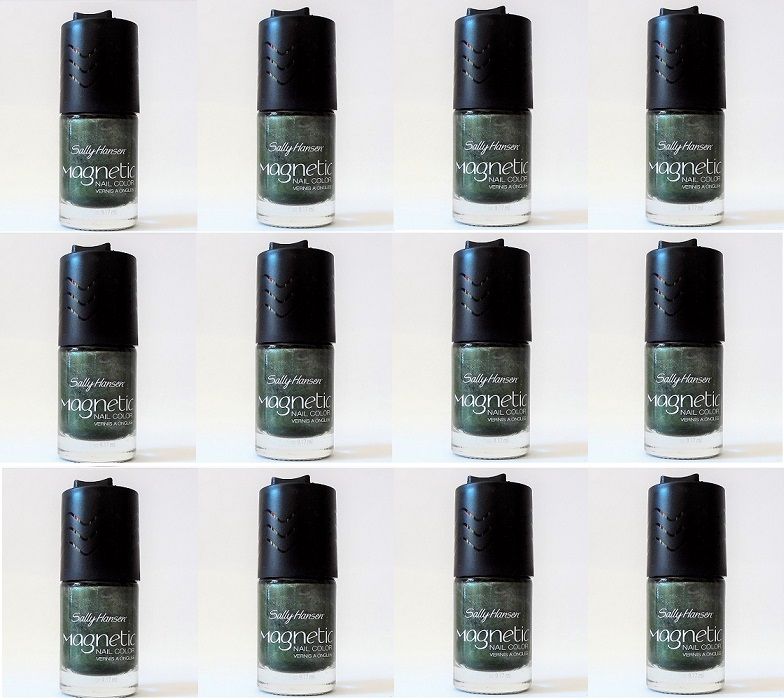 Sally Hansen Magnetic Nail Polish, 907 Electric Emerald Choose Your Pa