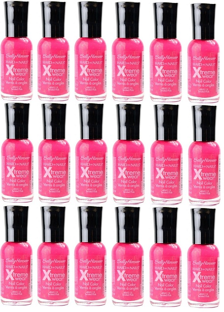 Sally Hansen Hard As Nails Xtreme Wear, 240 Twisted Pink CHOOSE YOUR PACK