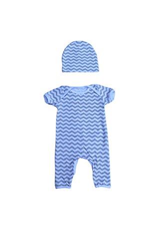 Newborn Infant Kid Baby Boy Girl Romper Bodysuit Jumpsuit Clothes Outfits 2PC US