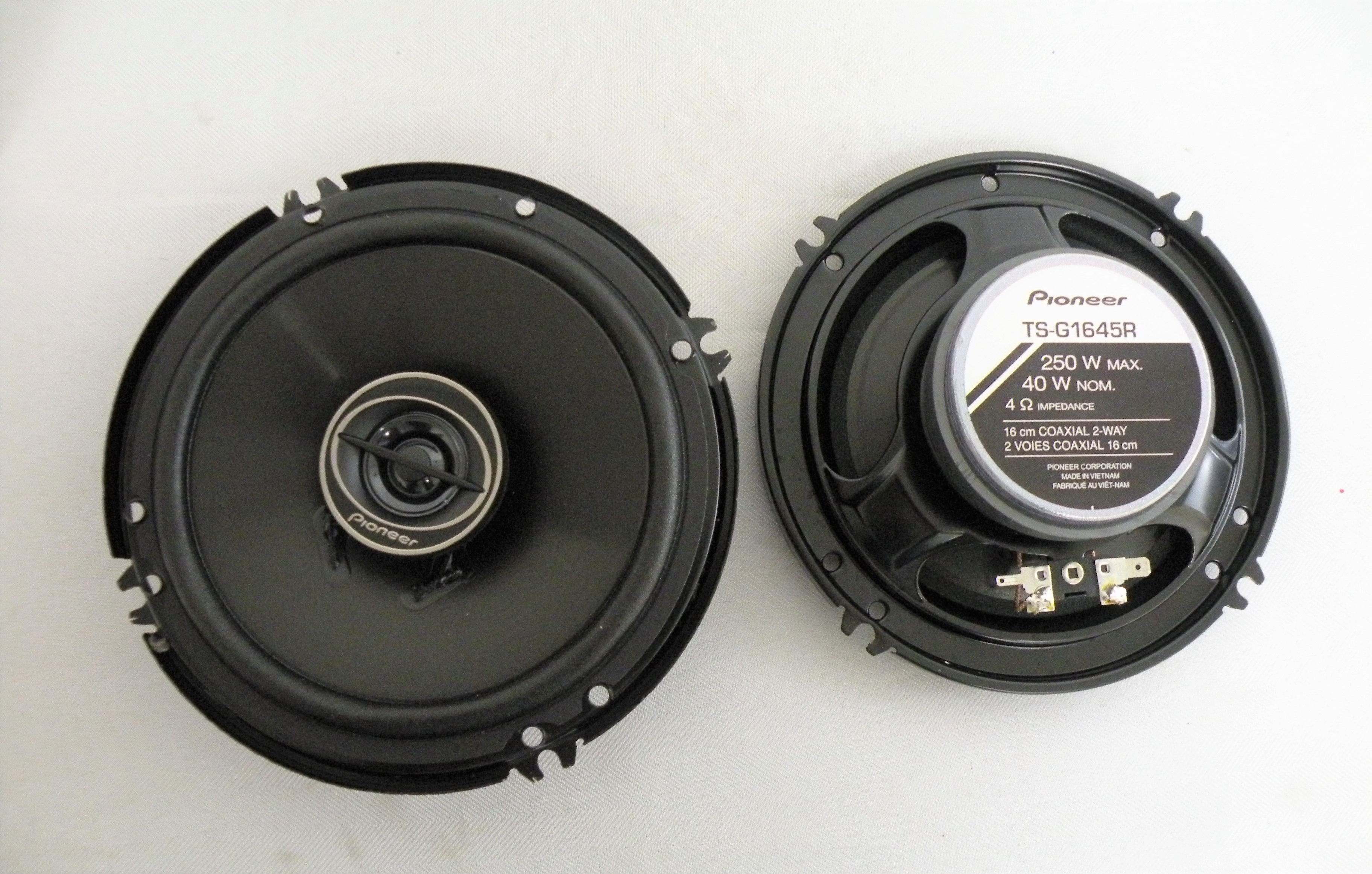 Image Is Loading Pioneer TS G1645R 6 5 Inch Woofer 2
