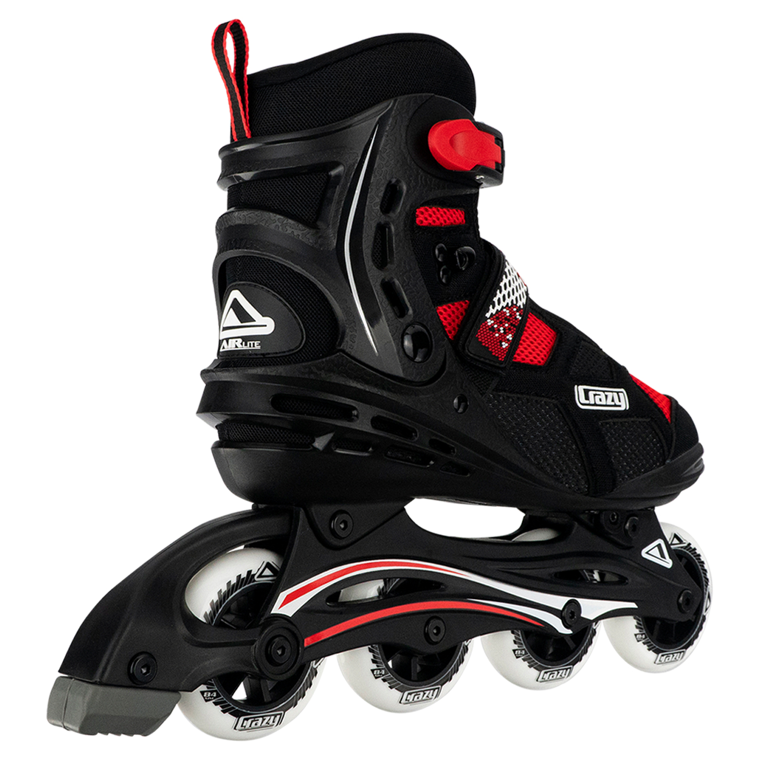 AIRlite Width Adjustable Inline Skates by Crazy SkatesAvailable in 2 Colors