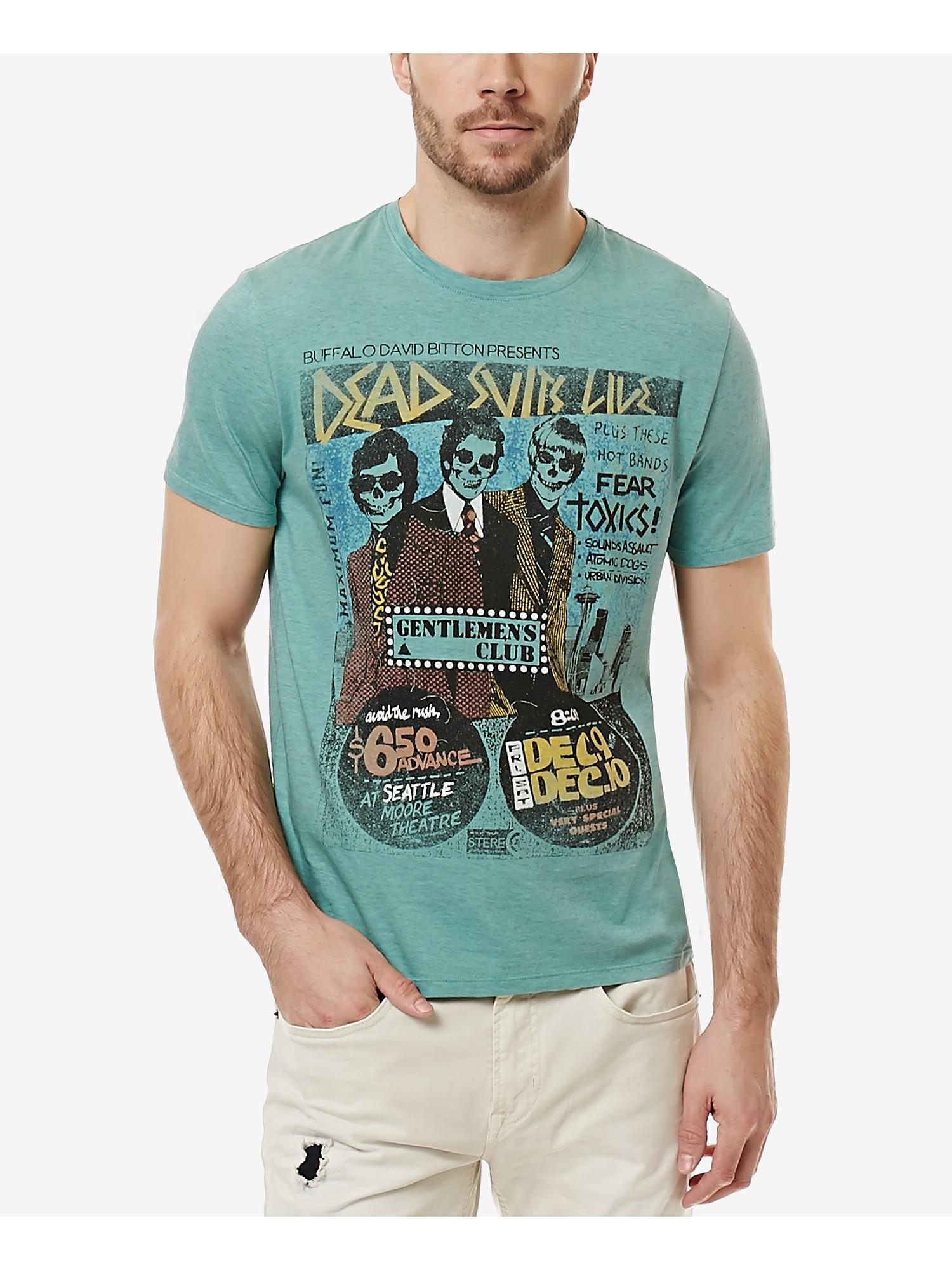 dff1aa3f Details about Buffalo David Bitton Men's Narock Graphic-Print T-Shirt