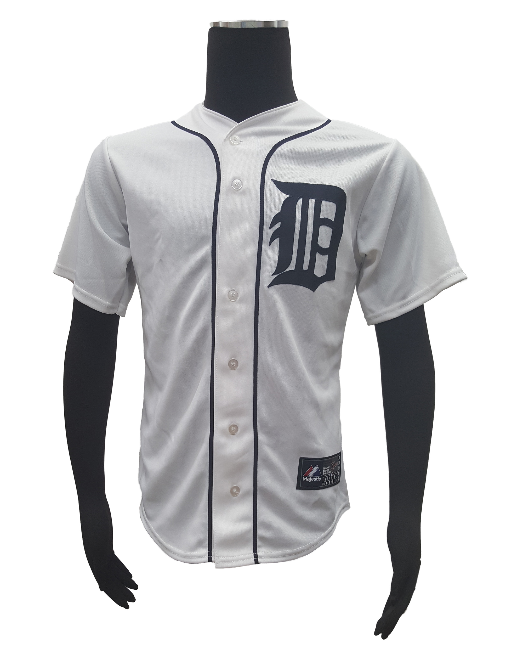 Majestic-Detroit-Tigers-14-David-Price-Men-039-s-Home-MLB-Cool-Base-Jersey miniature 5