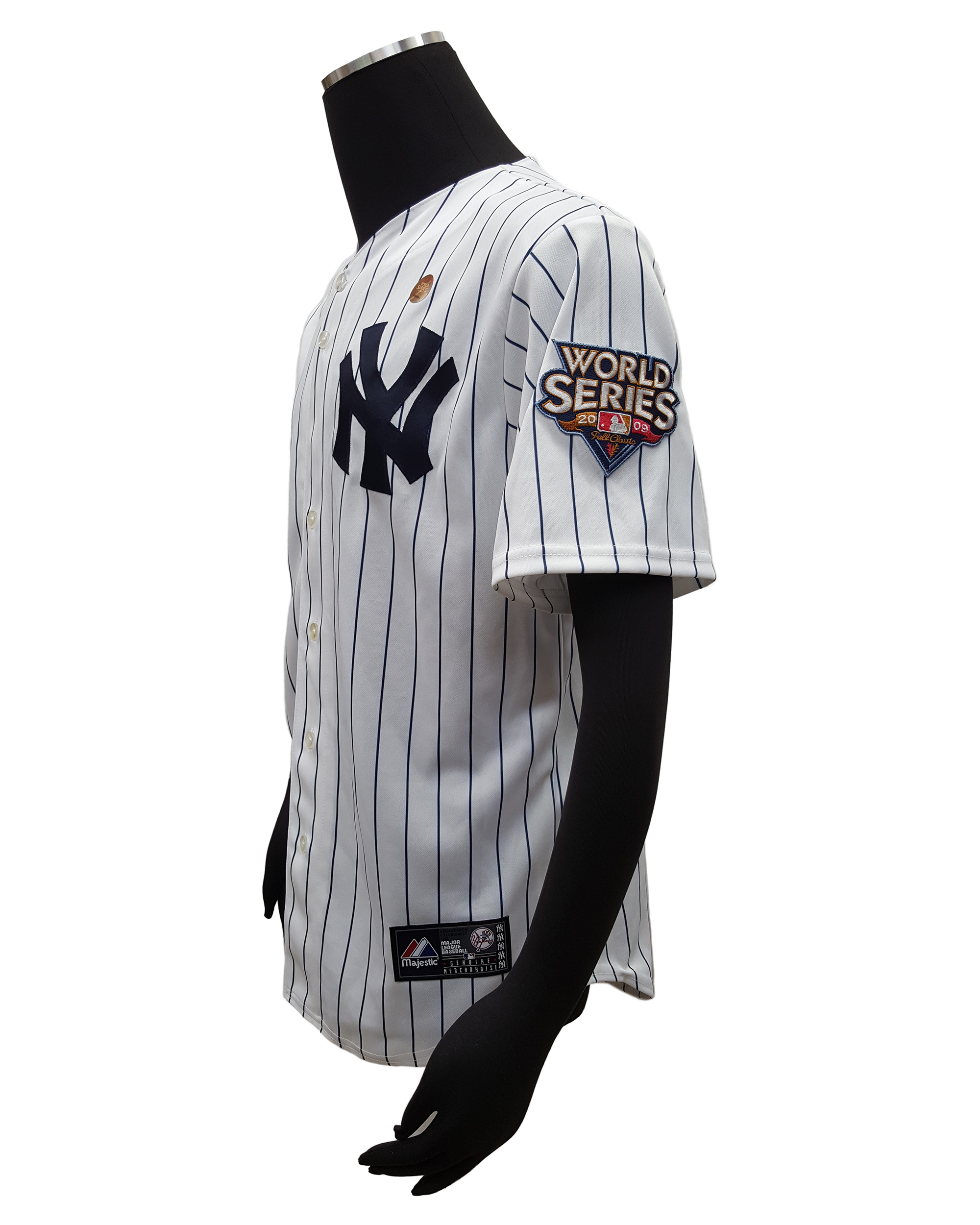 Majestic NY Yankees Mark Teixeira Home Jersey w 2009 World Series ... aeef927c0