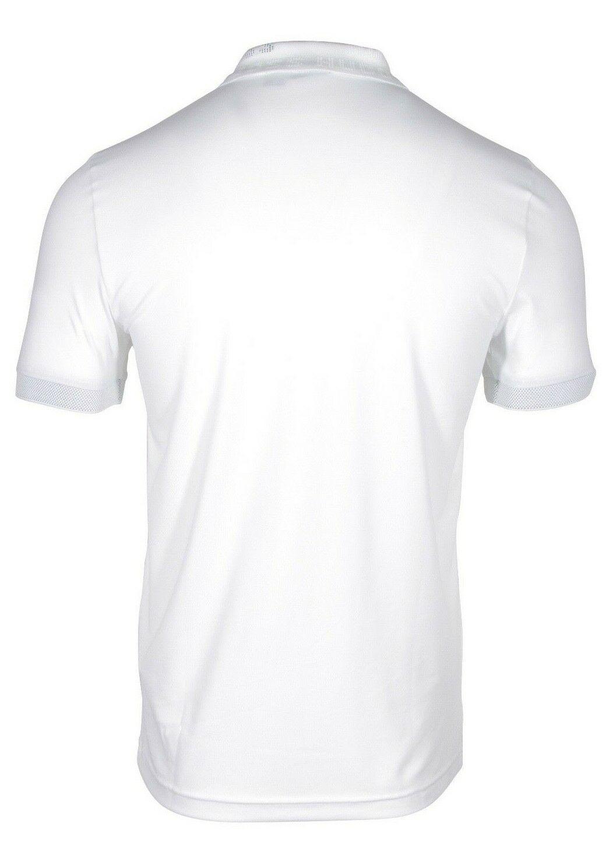 HUGO BOSS Paule Slim Fit Men/'s Polo Shirt W Logo Knit Collar White 50399388 100