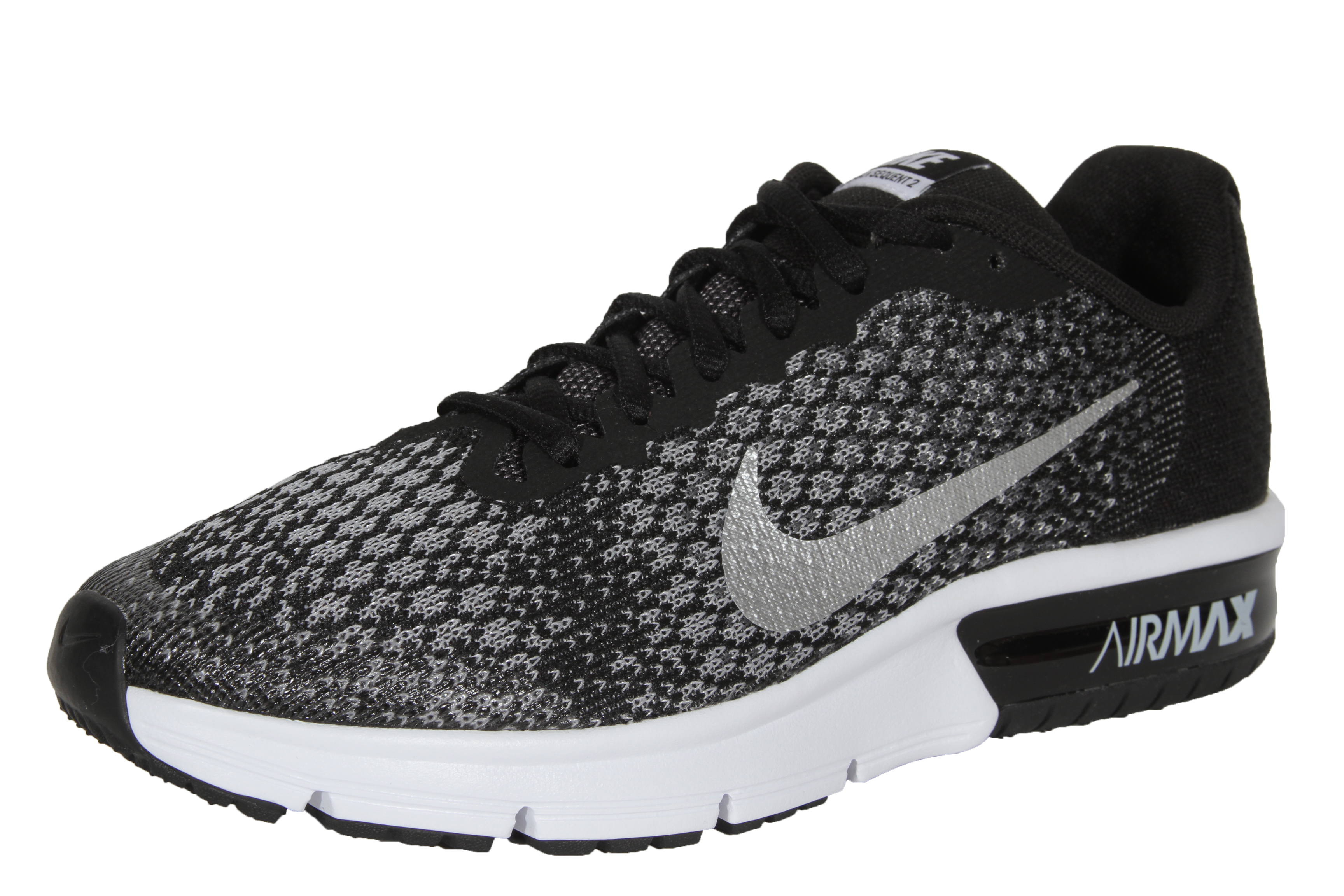 Nike Performance Air Max Sequent 2 Metallic Silver Electric Green 869993
