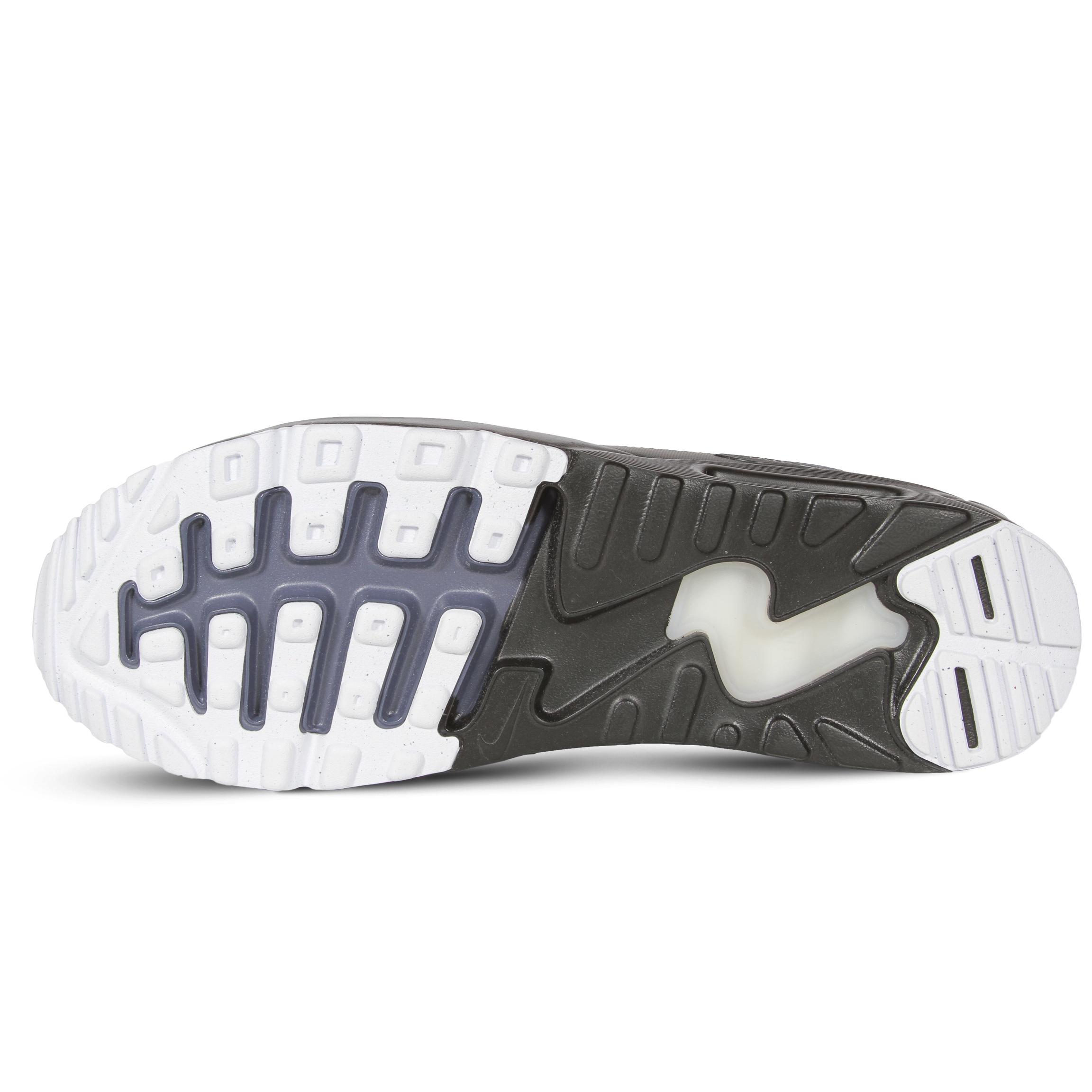 Mens Nike Air Max 90 Pas Cher Uniformes Postaux Noirs AfSm4EwKK