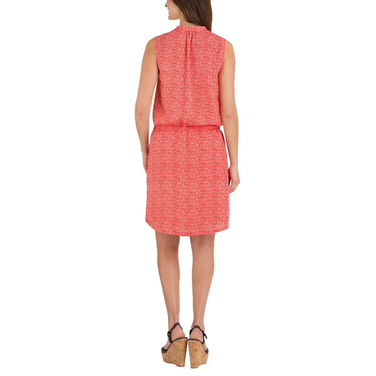Hilary Radley Womens Sleeveless Dress