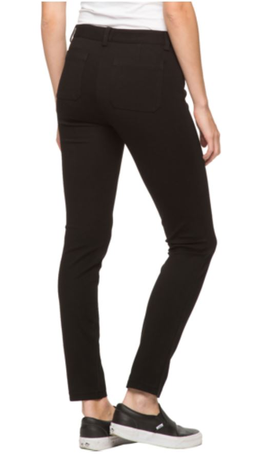 ANDREW MARC Womens Stretch Knit Ponte Pant