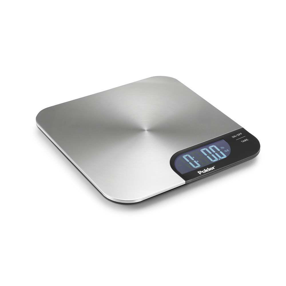 Polder Stainless Steel Ultra Slim Digital Kitchen Scale | eBay