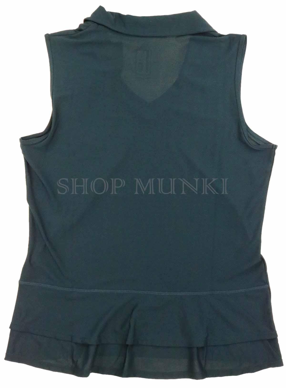 Mondetta Women/'s Sleeveless V-Neck Active Polo