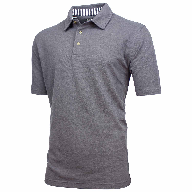 pebble beach mens performance golf polo shirt ebay