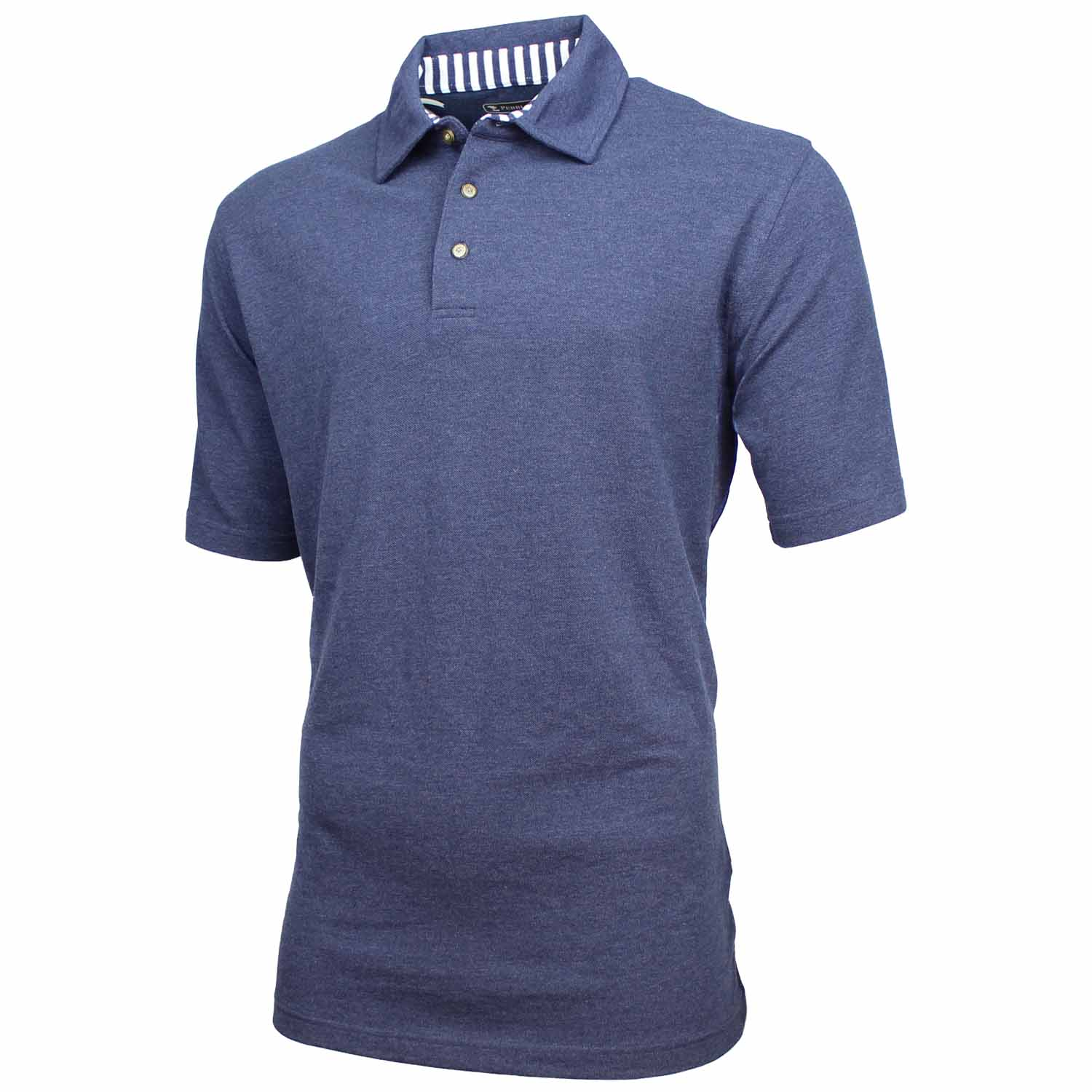 pebble beach mens performance golf polo shirt ebay. Black Bedroom Furniture Sets. Home Design Ideas