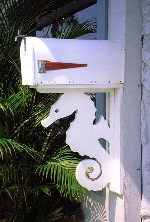 Nature Brackets Paintable PVC Mailbox Decorative Bracket