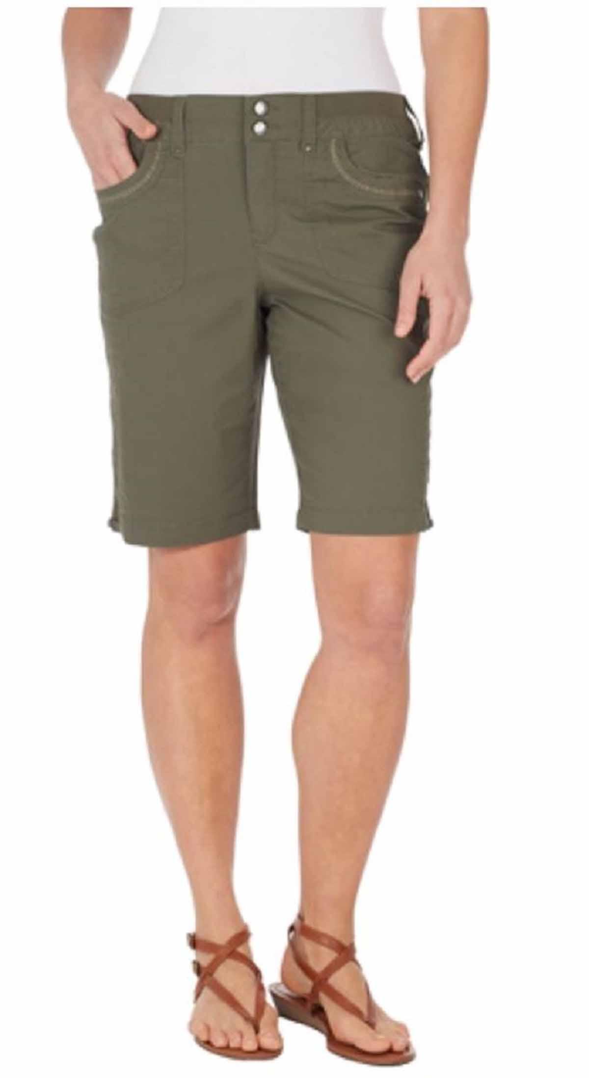 Gloria Vanderbilt Bermuda Shorts Plus Size
