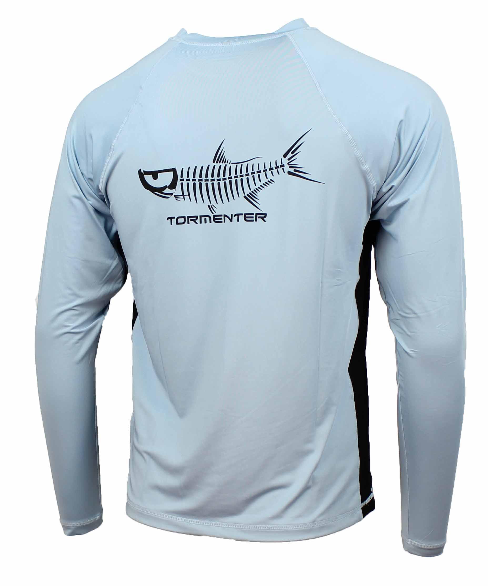 Tormenter Men's SPF-50 Long Sleeve Fishing Shirt
