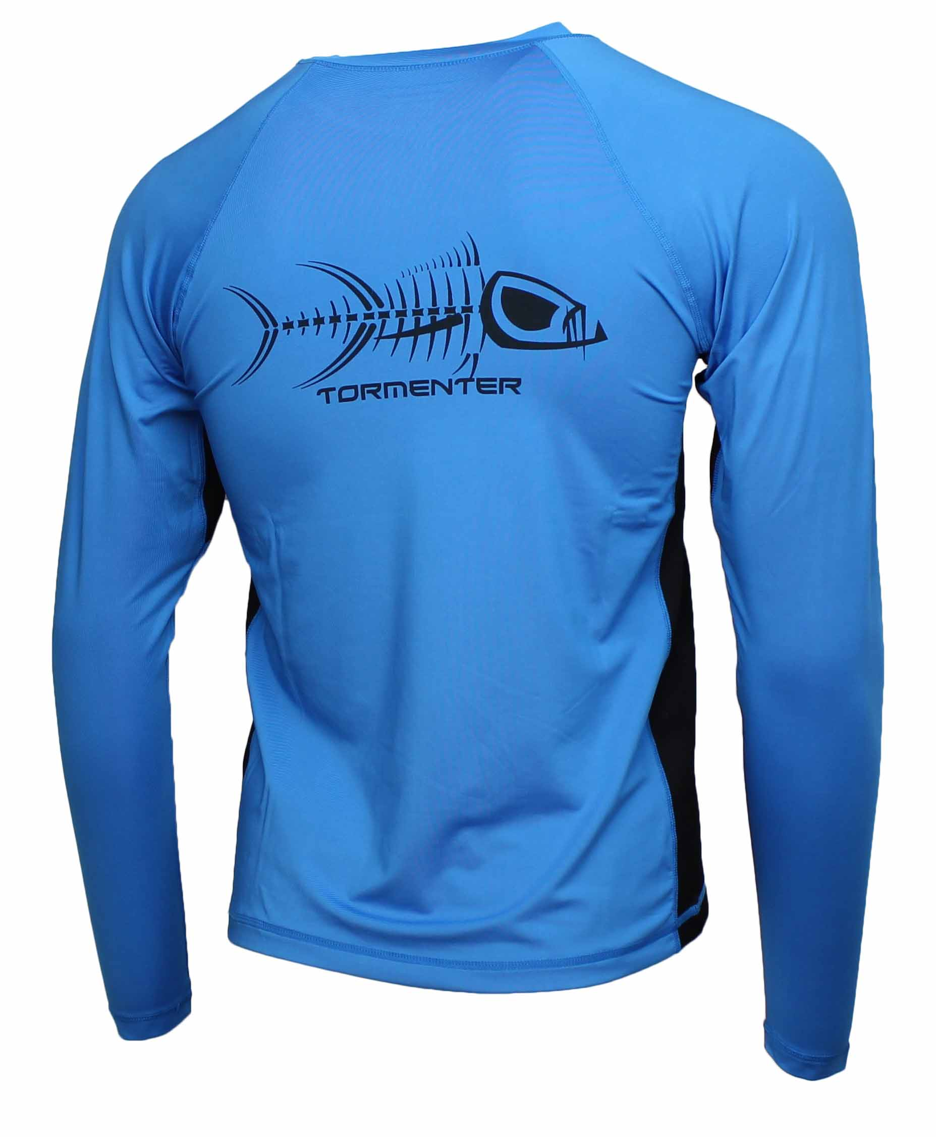 tormenter men 39 s spf 50 long sleeve fishing shirt ebay