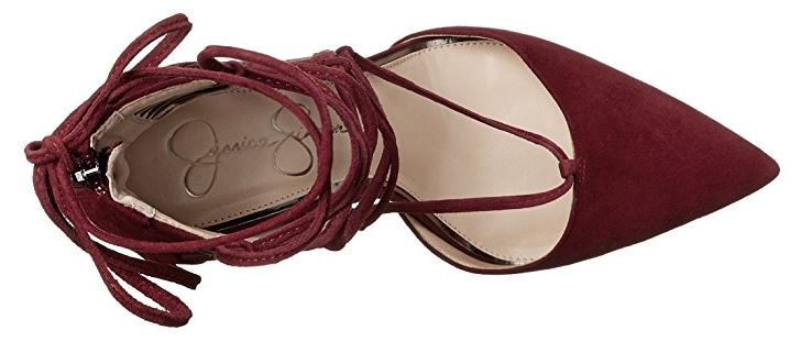 Jessica Simpson Damenschuhe Cynessa Up Pointed Toe Lace Up Cynessa Heel 453a35