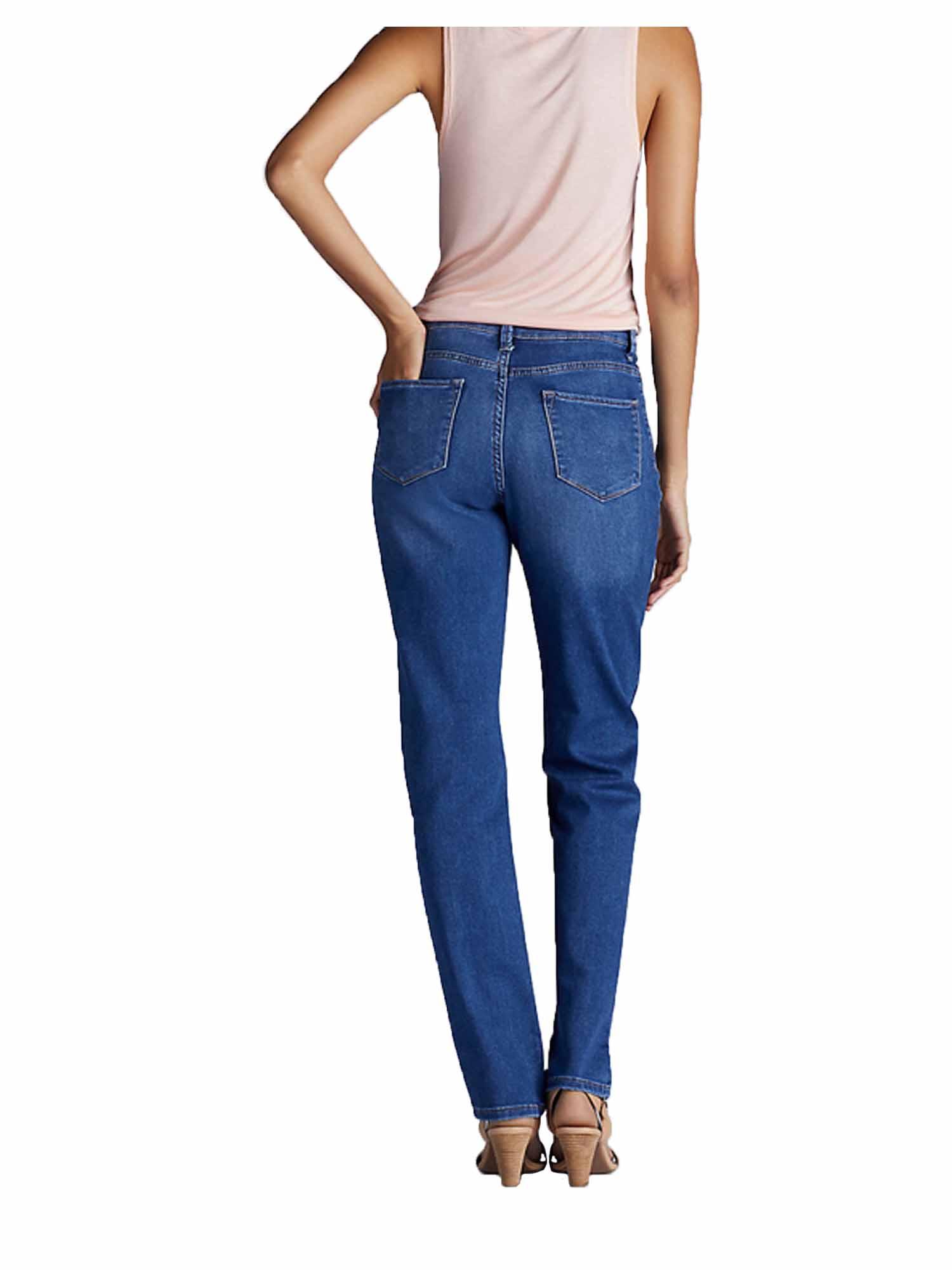 Lee Womens Platinum Label Classic Fit Straight Leg Jeans