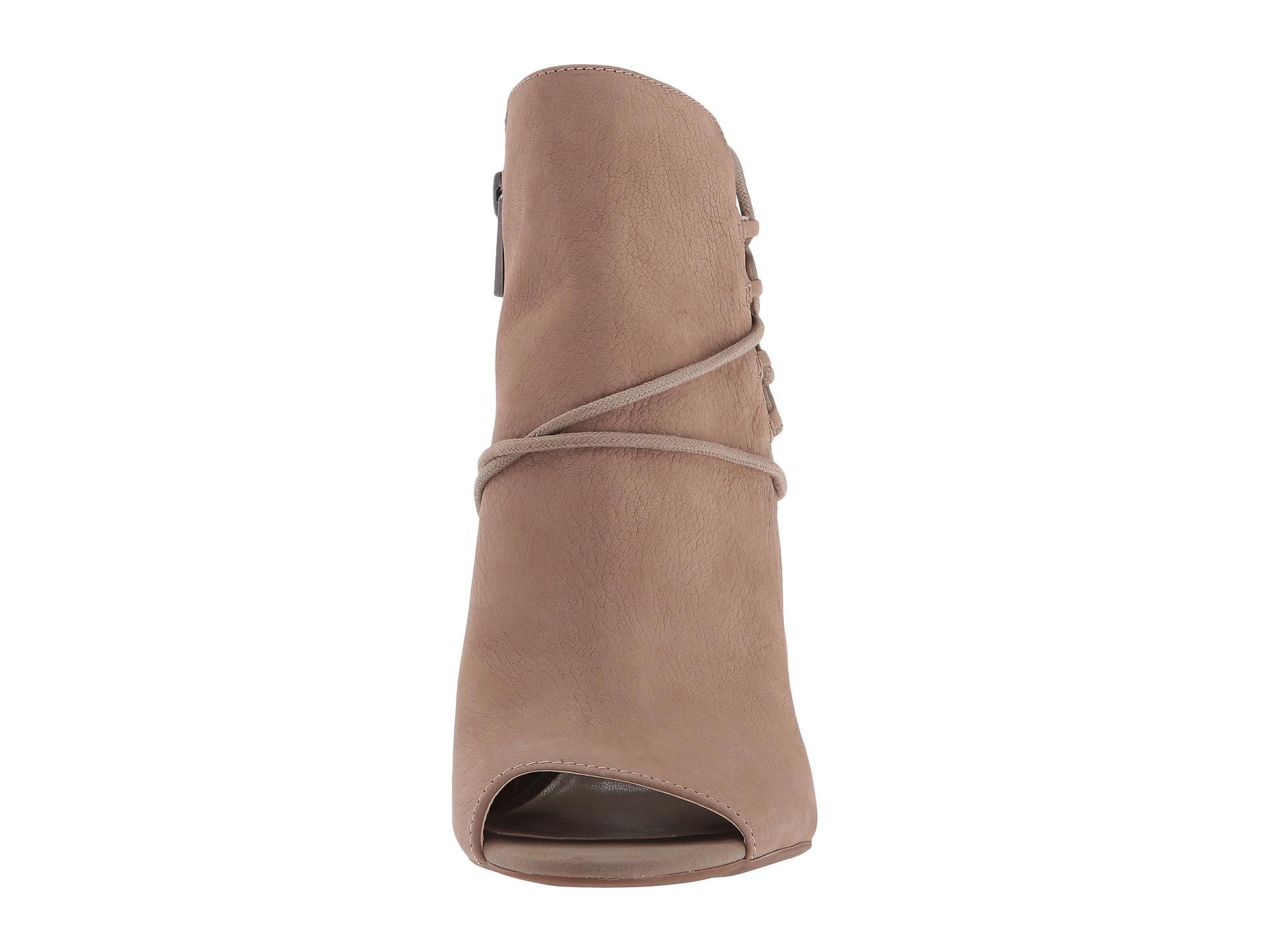 Jessica Simpson Womens Remni Open-Toe Bootie Shoe