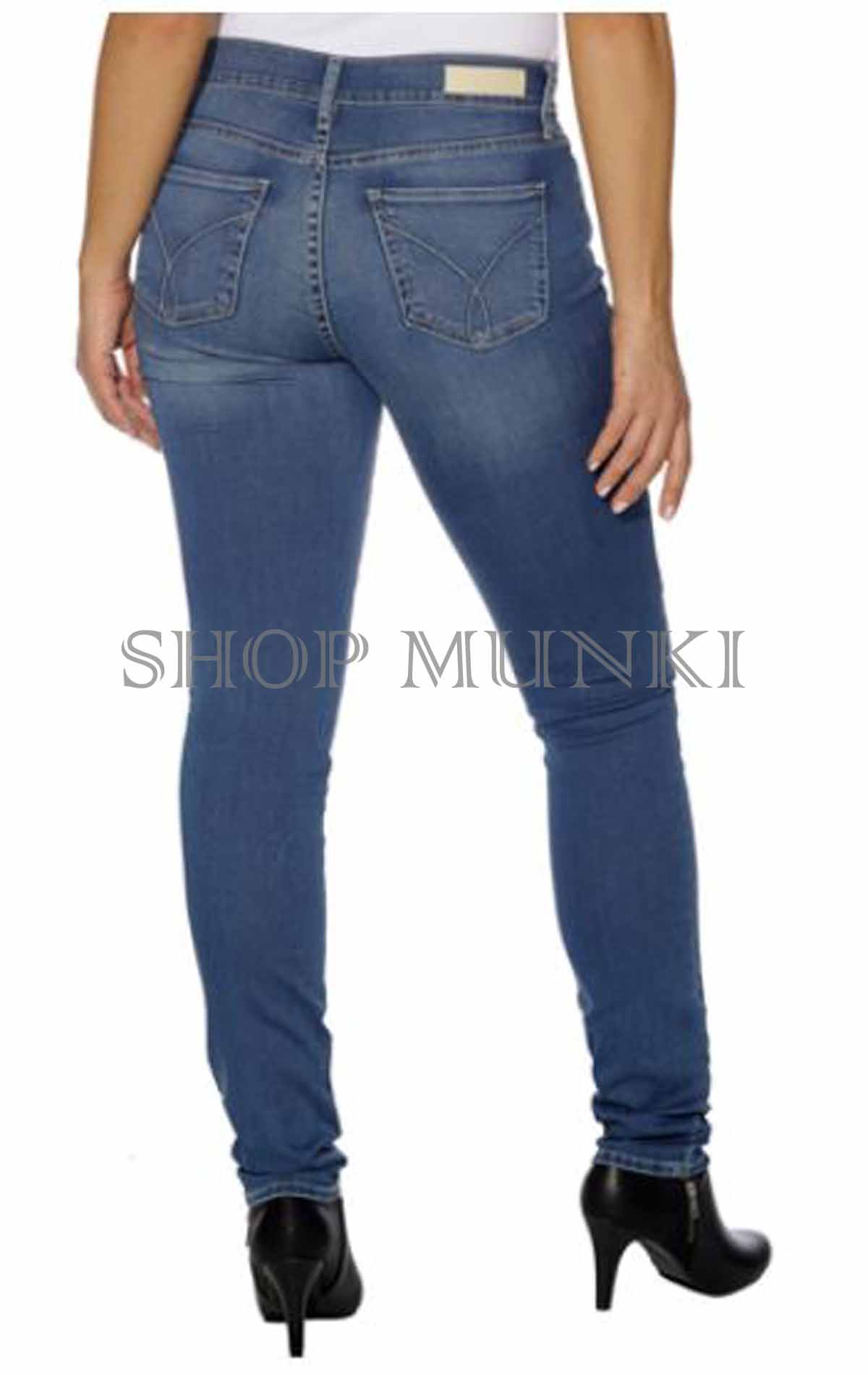 Calvin klein women's ultimate skinny power stretch jeans