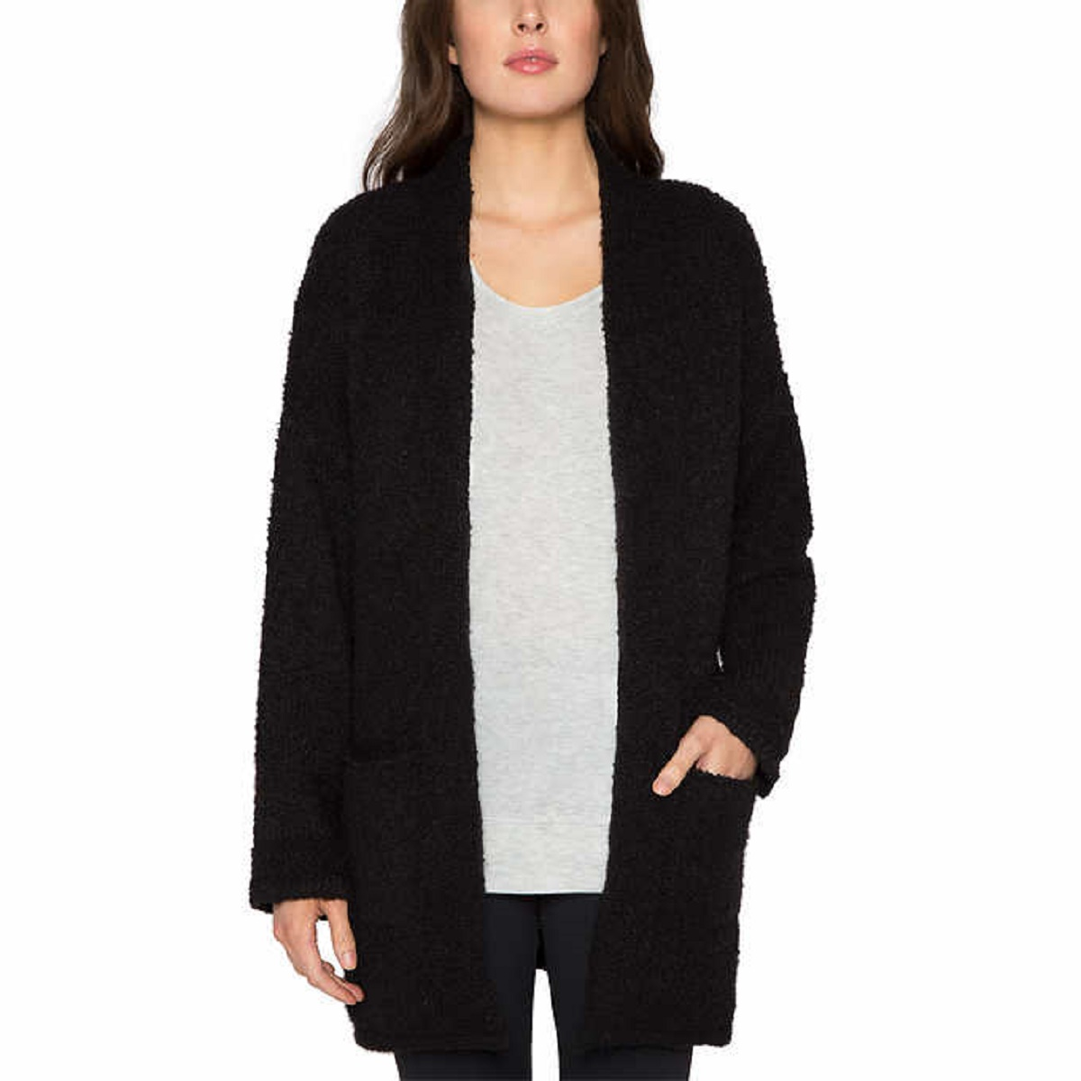 Matty M Women's Oversized Open Front Cardigan Sweater | eBay