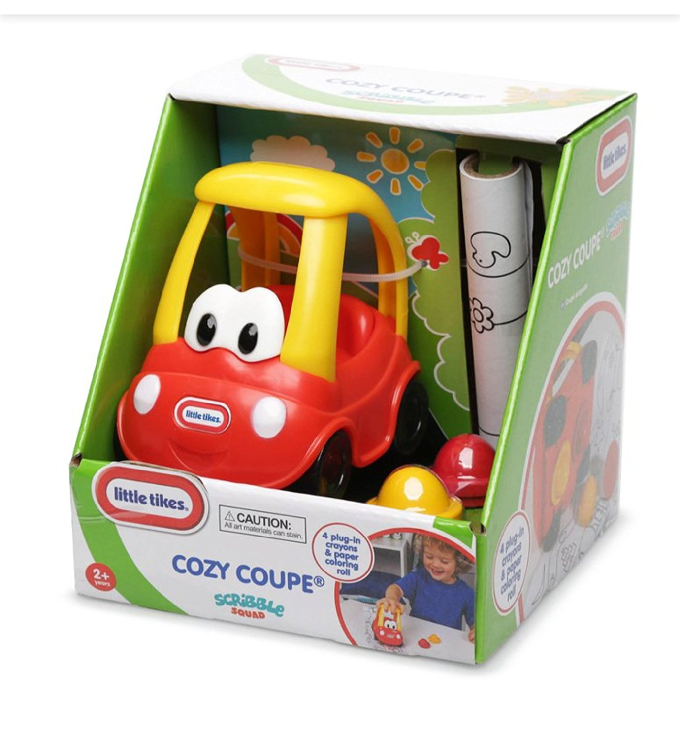 Little Tikes Toddlers Scribble Squad Crayon Cozy Coupe Car
