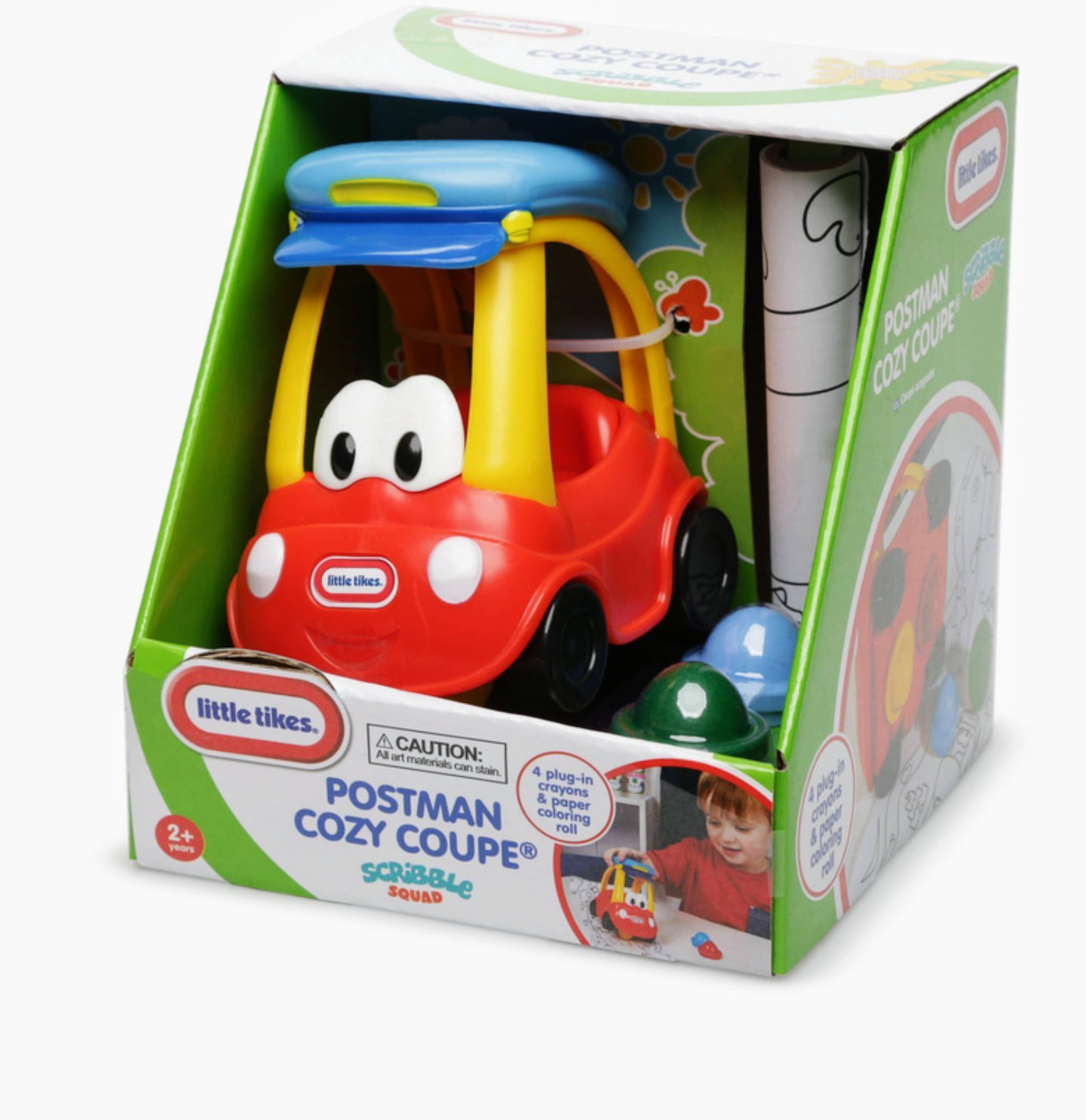 Little tikes toddlers scribble squad crayon cozy coupe car for Little tikes 2 in 1 buildin to learn motor workshop