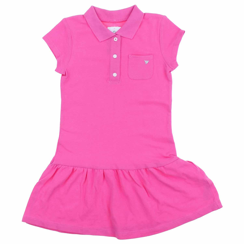 Carters Little Girls Summer Polo Dress