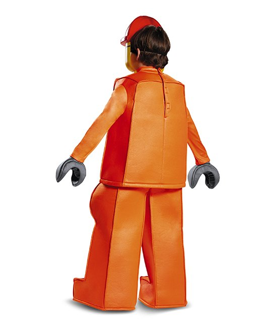 Disguise Youth Lego Construction Worker Prestige Costume