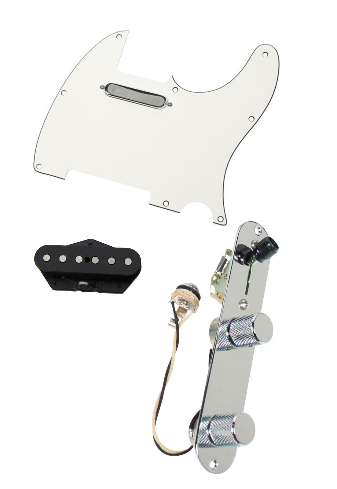 920d Fender Tele Telecaster Loaded Pre Wired Pickguard Tex Mex Hot Rails Wiring Diagram Image Is Loading