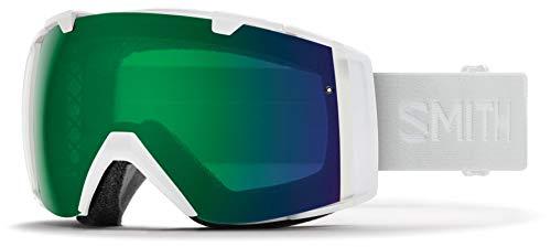 Smith Optics I/o Snow Goggles Chromapop with Extra Lens Included White Vapor/Green Mirror