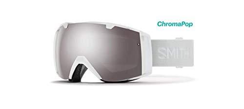 Smith Optics I/o Snow Goggles Chromapop with Extra Lens Included White Vapor/Platinum Mirrior