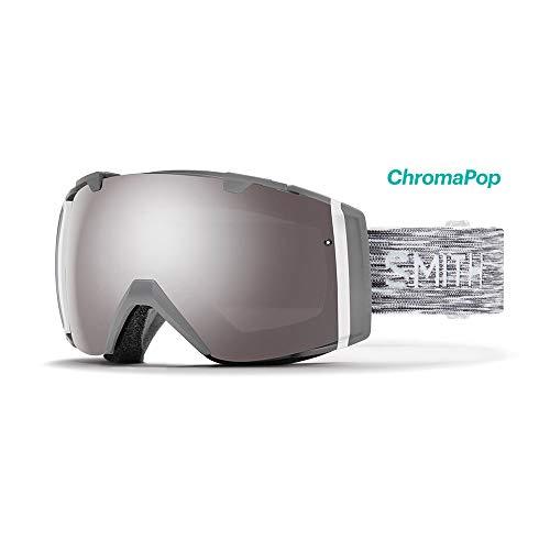 Smith Optics I/o Snow Goggles Chromapop with Extra Lens Included Black/Sun Green Mirror