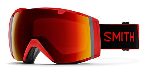 Smith Optics I/o Snow Goggles Chromapop with Extra Lens Included Rise/Sun Red Mirror