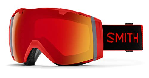 Smith Optics I/o Snow Goggles Chromapop with Extra Lens Included Rise/Red Mirror