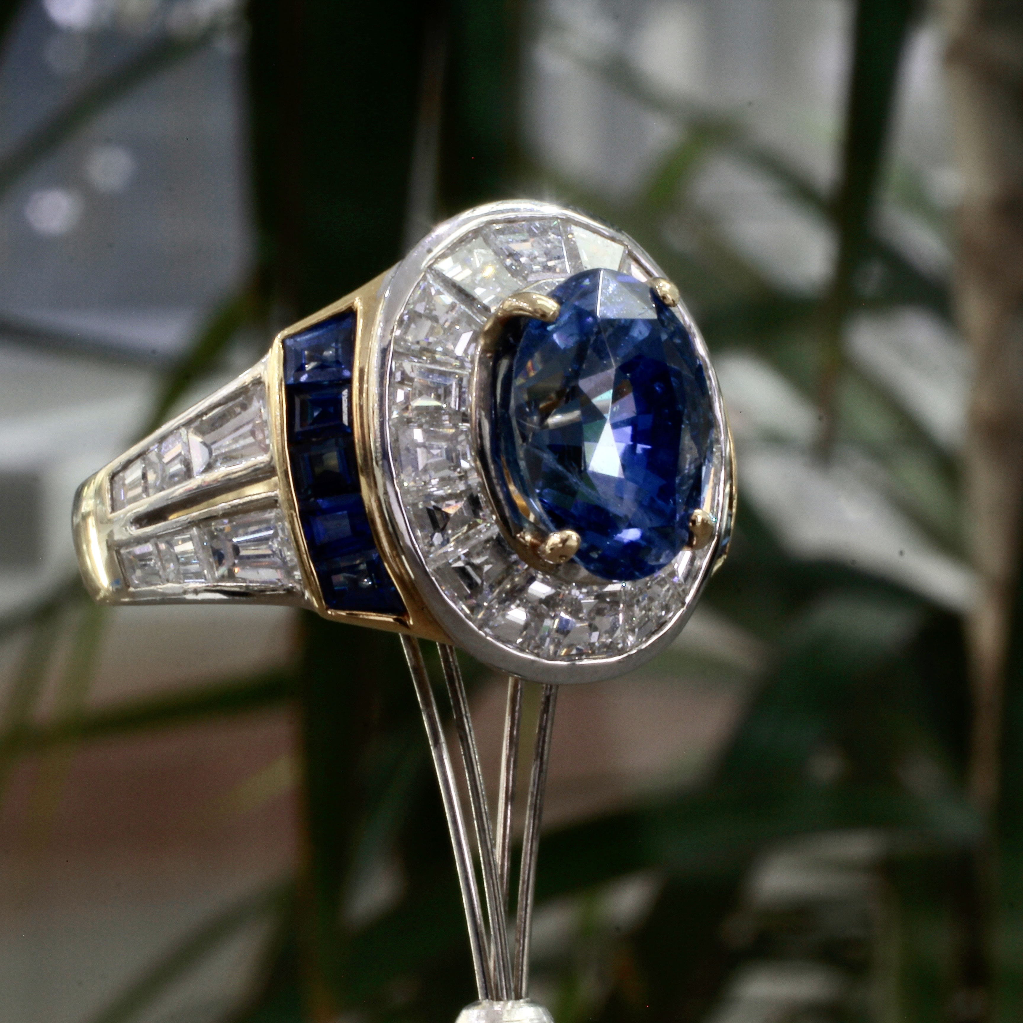 Size 6 and Made to Your Size Sapphire Ring Natural Sapphire Ring Sapphire Ring Yellow Sapphire 18K Gold /& Silver Ring Rose Cut Sapphire