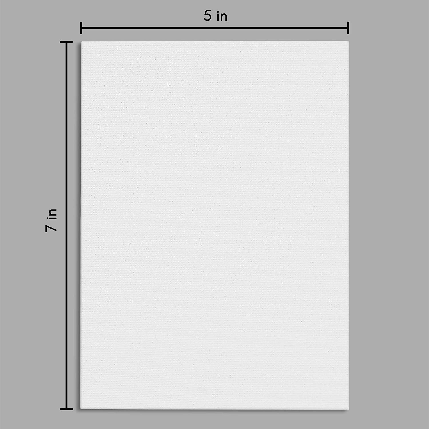 miniature 3 - Americanflat Stretched Canvas in White 100% Cotton Wooden Frames & Acid Free