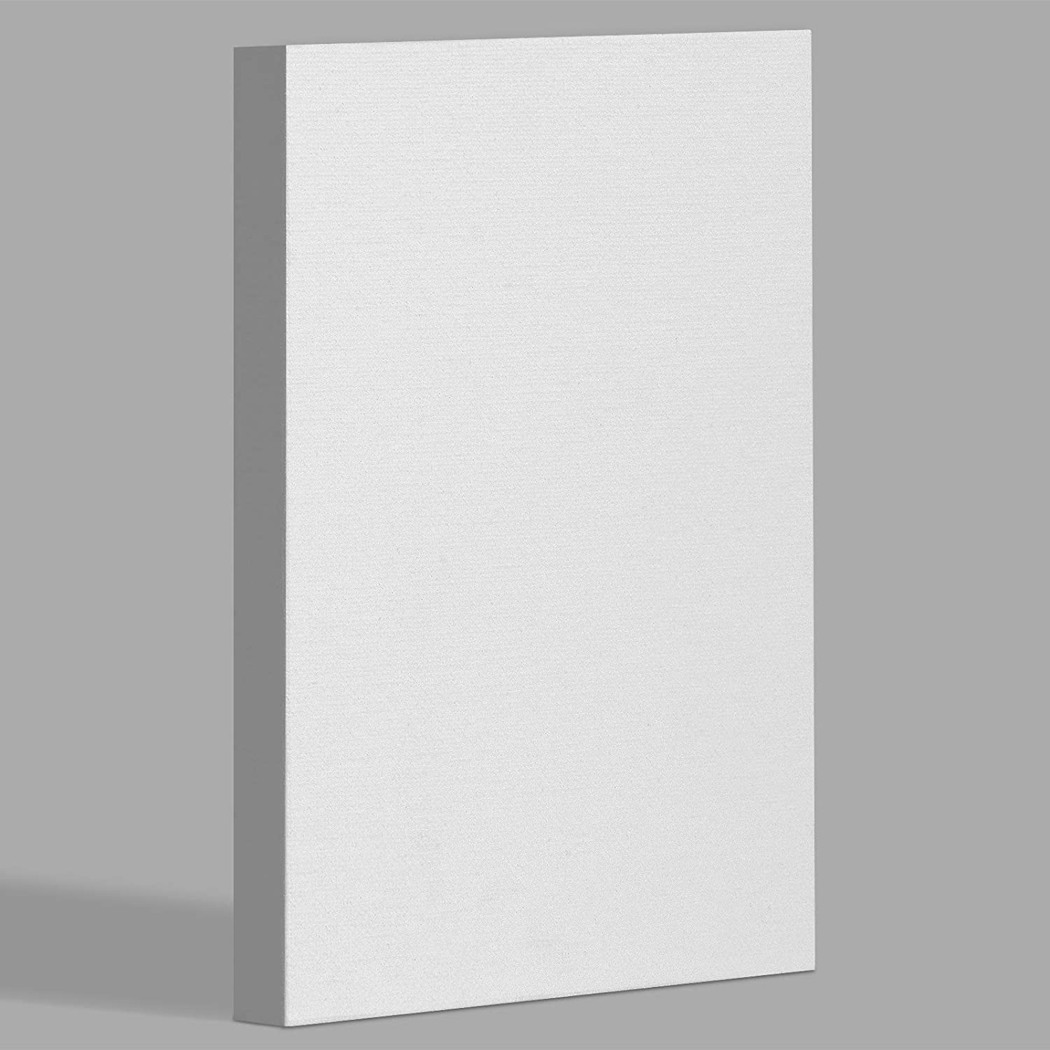 miniature 2 - Americanflat Stretched Canvas in White 100% Cotton Wooden Frames & Acid Free