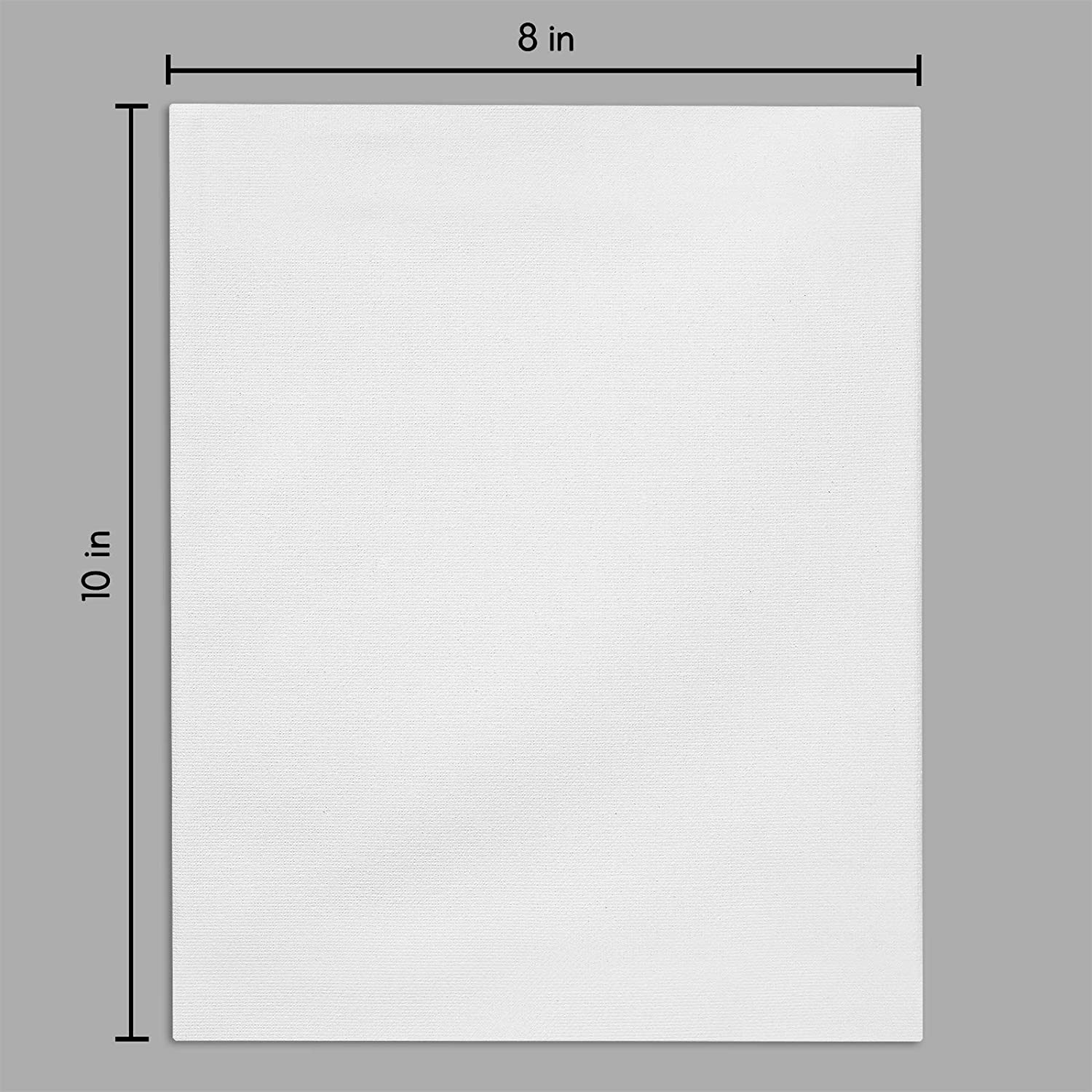 miniature 9 - Americanflat Stretched Canvas in White 100% Cotton Wooden Frames & Acid Free